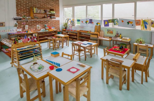 O que é o ambiente preparado Montessori e como ele contribui para o aprendizado?