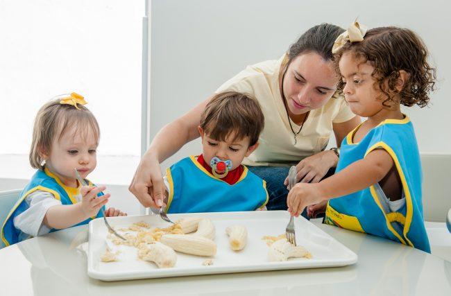Cozinha experimental e seu papel no ensino Montessori