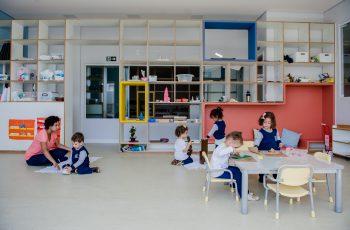 Um raio-x da sala de aula Montessori