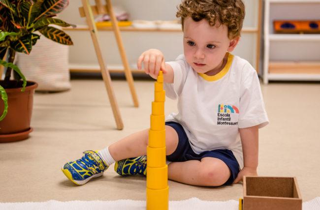 A magia das escolas Montessorianas